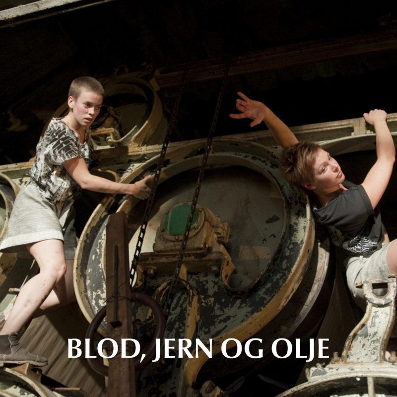 blod, jern og olje