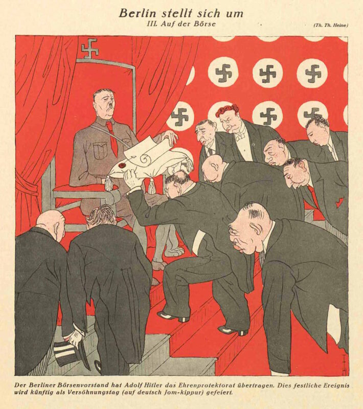 Tegning av Heine fra 1929