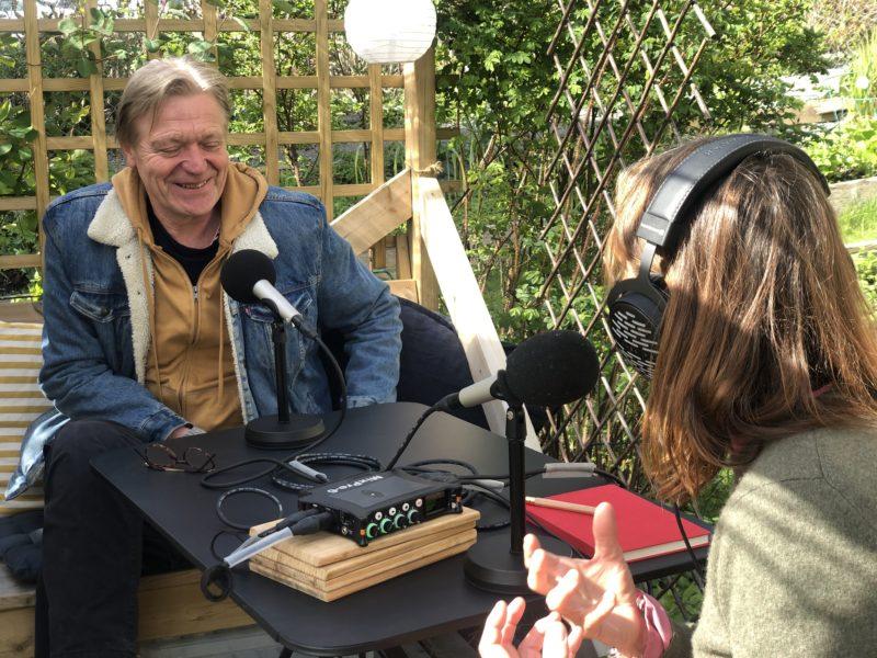 Kari Slaatsveen i samtale med Terje Strømdahl