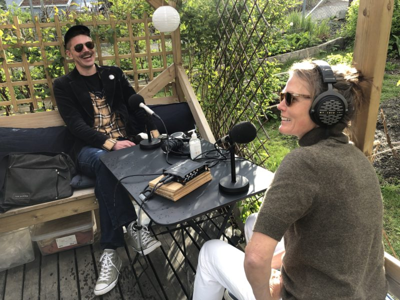 Kari Slaatsveen og Jørgen Strickert