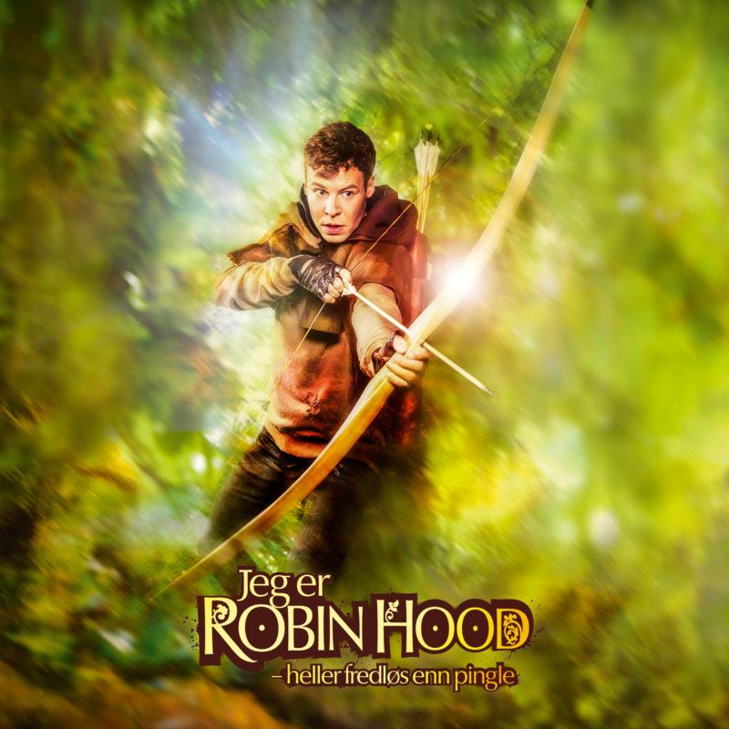 Jeg er Robin Hood plakat