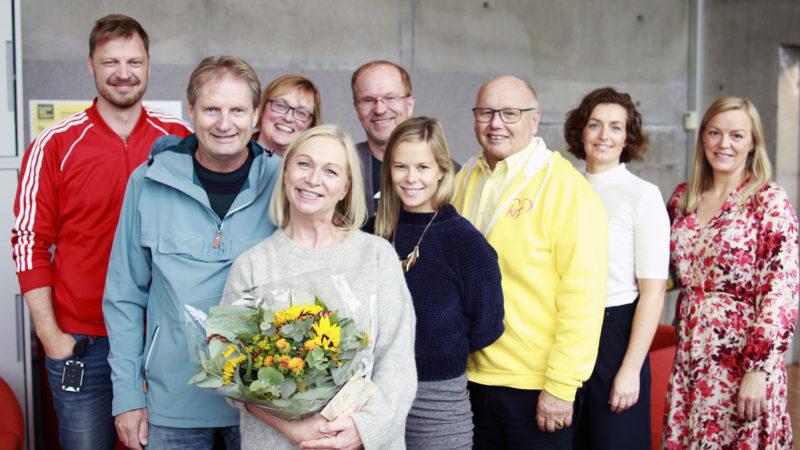 Bilde av ansatte på teater innlandet