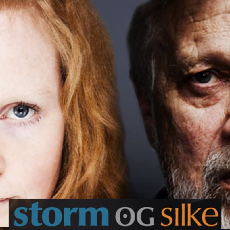storm og silke