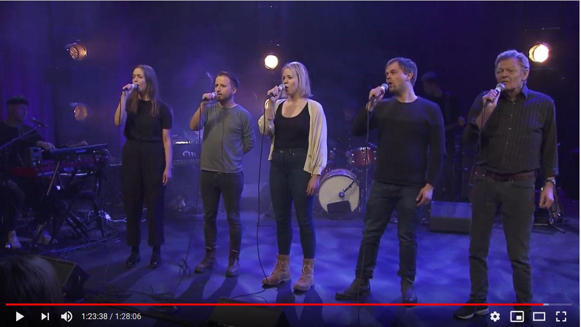 Fem som synger