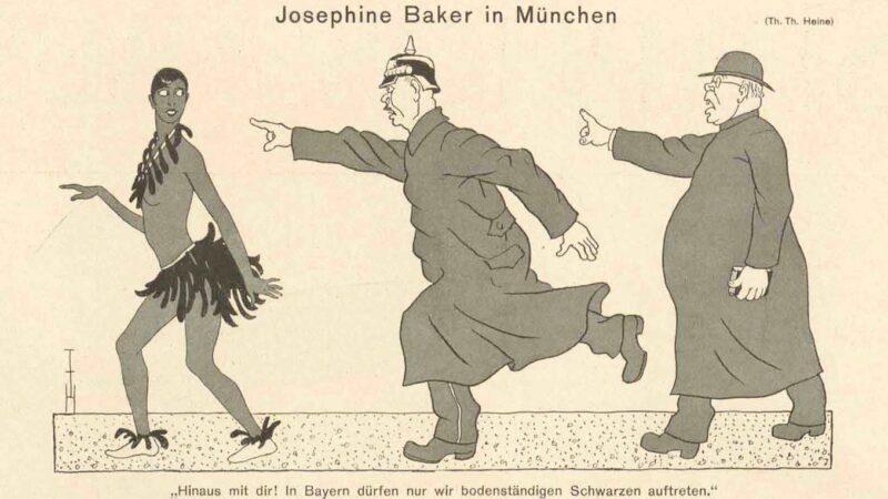 Tegning av Heine fra 1930