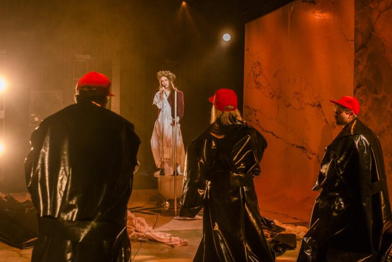 Scene fra Julius Cæsar