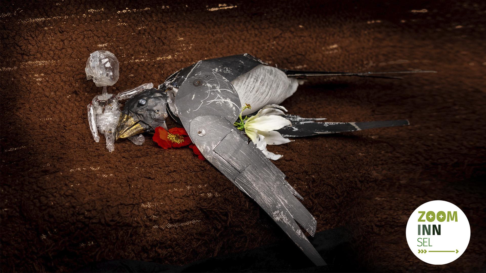 Bilde av falsk fugl